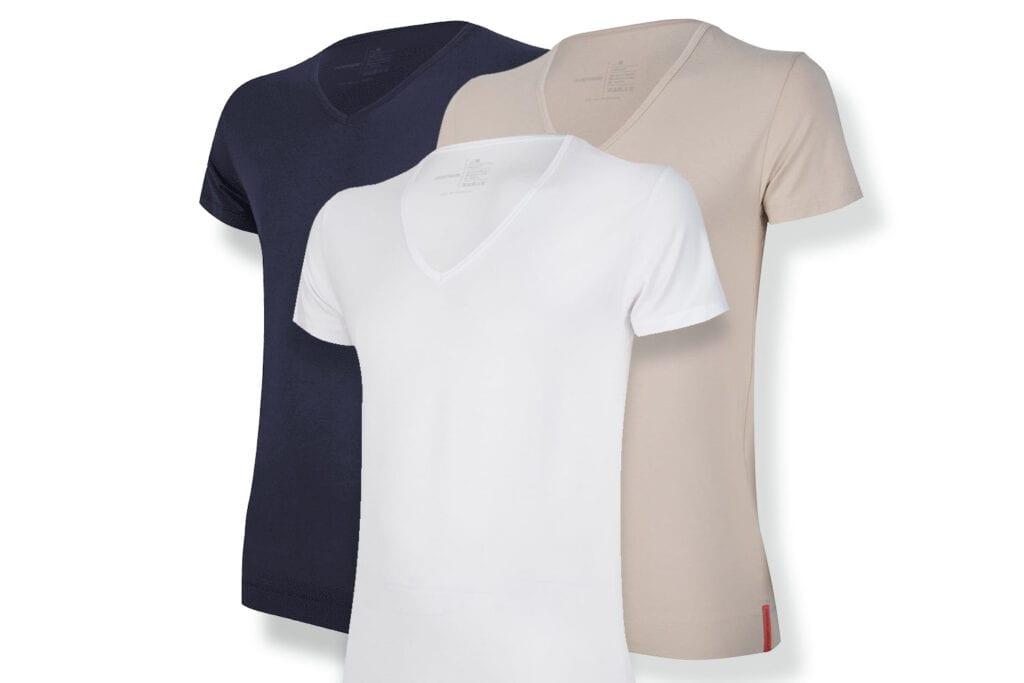 Undiemeister® udvider sit sortiment: dybe V-hals T-shirts og nye farver