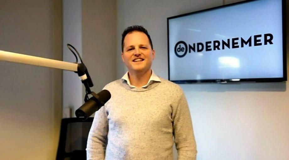 Jeroen Adriaans (CEO of Undiemeister®) announces launch during radio interview